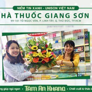 Chúc Mừng Nhà Thuốc Giang Sơn 2 Khai Trương Hồng Phát